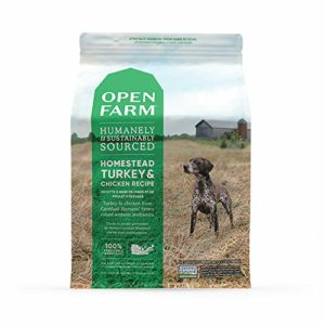 Open Farm Homestead Turkey and Chicken Humanely and Sustainably Sourced Dog Food thedogdaily.com