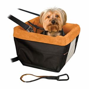 Puppy Dog Car Seat with Seat Belt Tether 5 thedogdaily.com