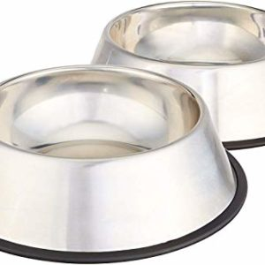 AmazonBasics Stainless Steel Dog Water and Food Bowls 5 thedogdaily.com
