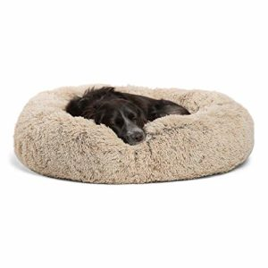 Best Friends by Sheri Calming Shag Vegan Fur Dog Bed 6 thedogdaily.com